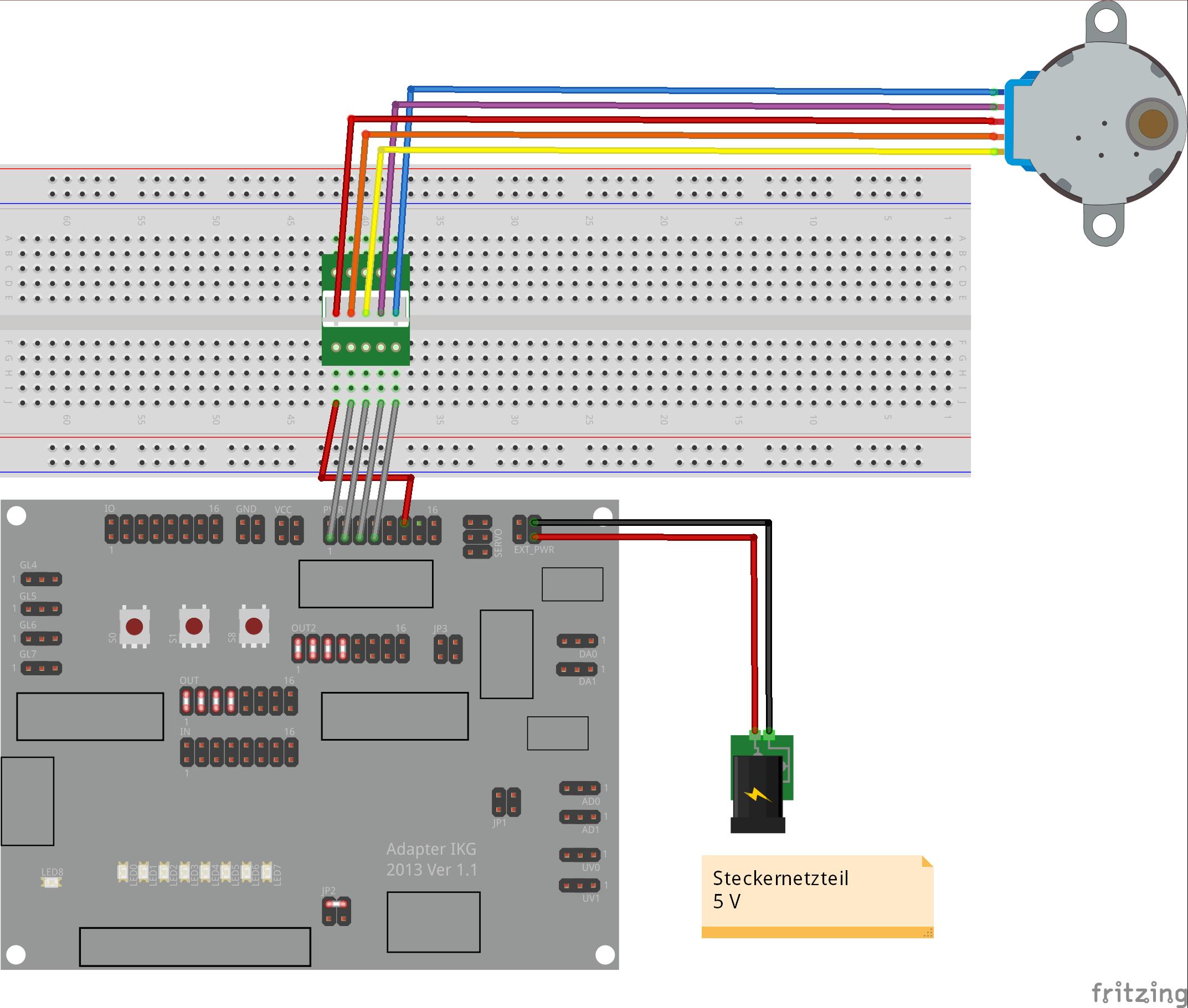 Adapterplatine IKG